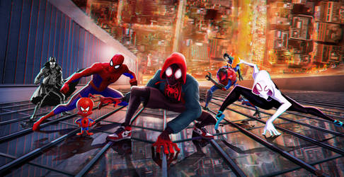 Spider-Man: Into the Spider-Verse | wallpaper by mintmovi3