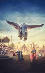 Dumbo (2019) international poster textless