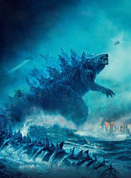 Godzilla: King of the Monsters Total Film textless by mintmovi3