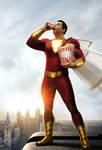 Shazam! (2019) IMAX poster textless