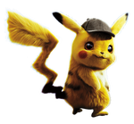Detective Pikachu (2019) Pikachu png.