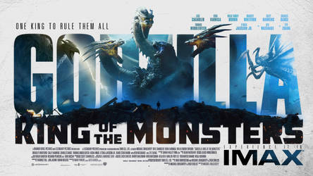 Godzilla: King of the Monsters Fan-made poster by mintmovi3