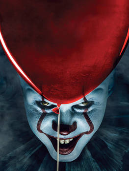 It Chapter 2 (2019) Pennywise EW Cover textless