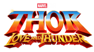 Thor: Love and Thunder logo png