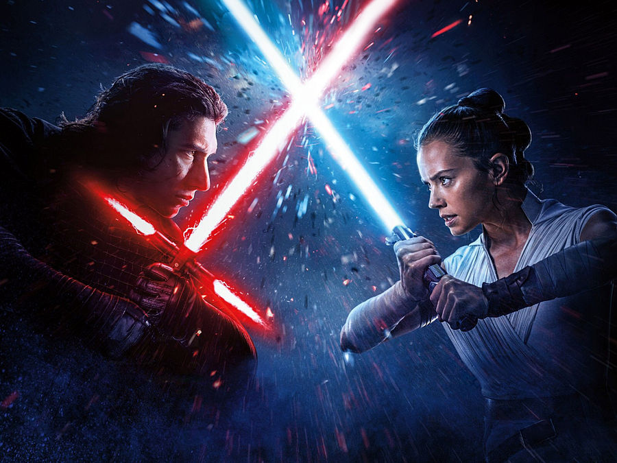 Star Wars Ix Kylo Ren Vs Rey Wallpaper 2 By Mintmovi3 On