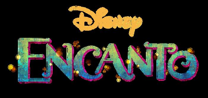 Disney's Encanto logo png.