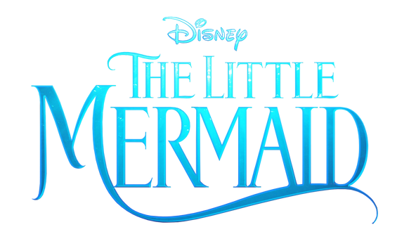 Disney's The Little Mermaid live - action logo png