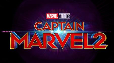 Marvel's Captain Marvel 2 logo png.