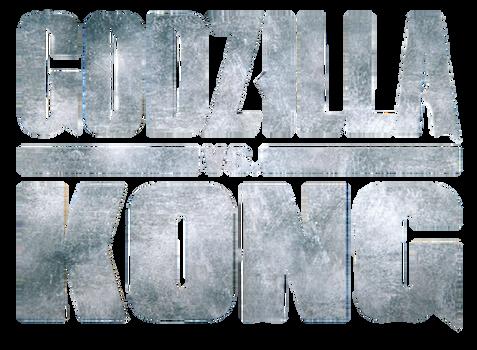 Godzilla vs Kong (2021) Trailer logo png.