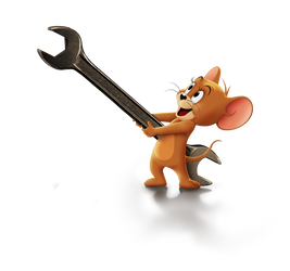 Tom and Jerry (2021) Jerry png.