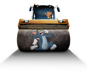 Tom and Jerry (2021) Steamroller png.