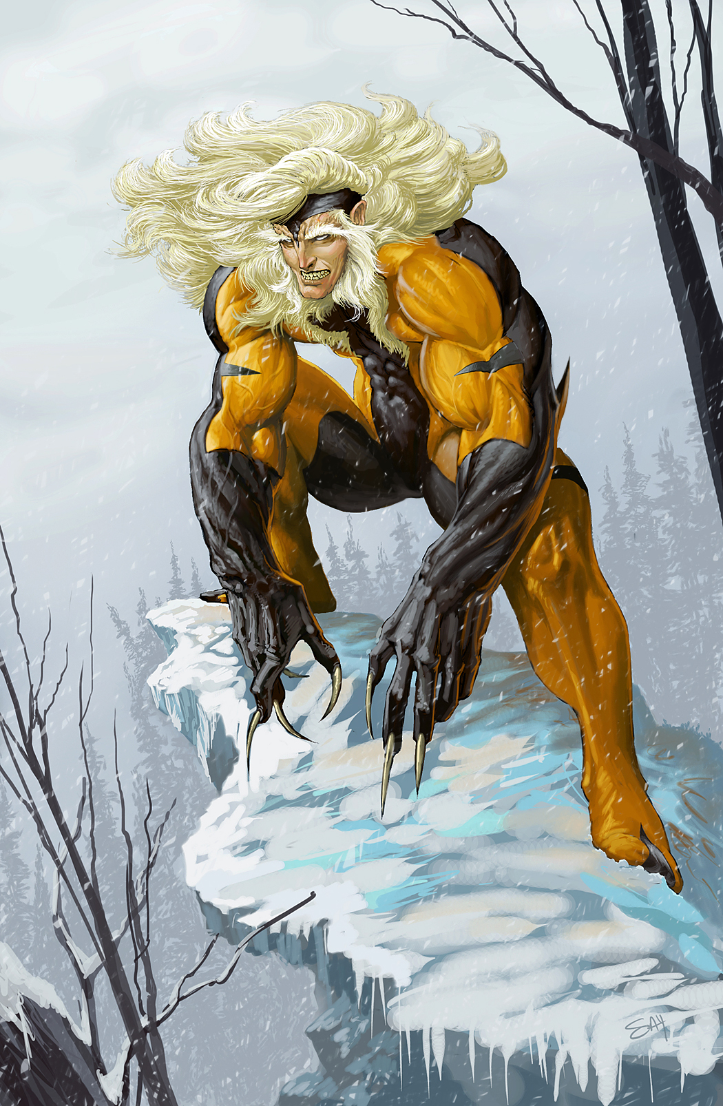 Sabretooth by SadistG