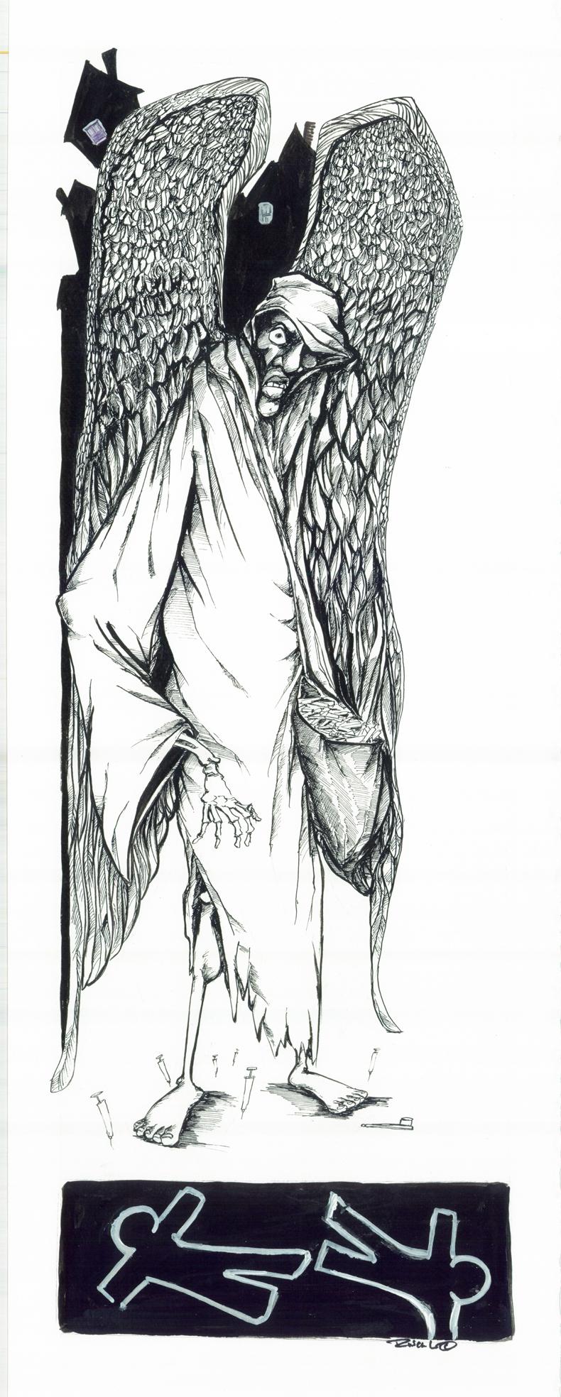 crack angel by sketchoo