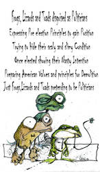 Frogs,Lizards and Toads by sketchoo