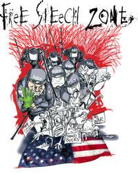Free Speech Zone by sketchoo