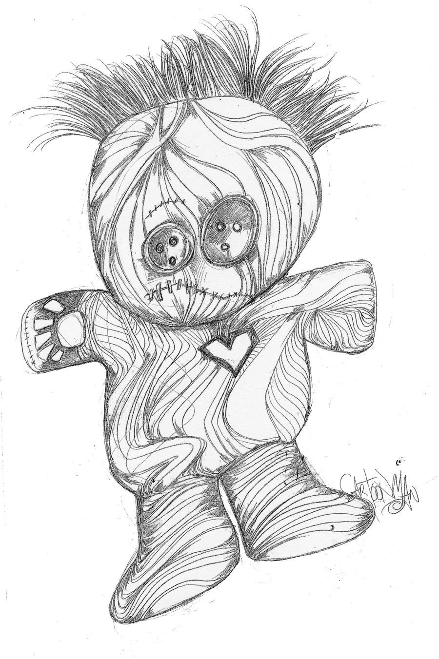 doll pencil by sketchoo