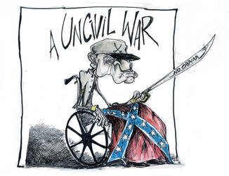 Uncivil War by sketchoo