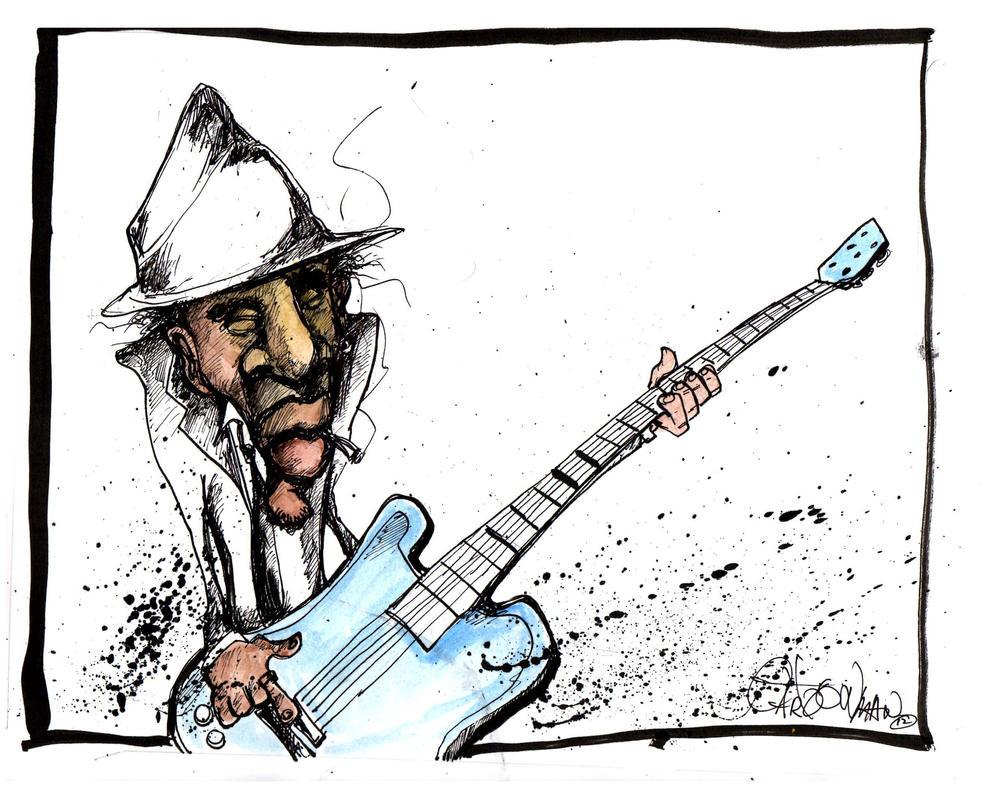 ole skool Guitar player by sketchoo on DeviantArt