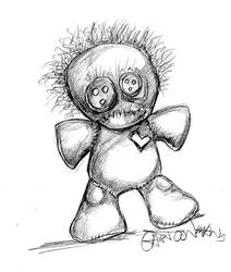 Voodoo Pencils by sketchoo
