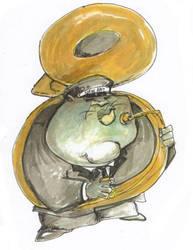 Jazzkat Tuba by sketchoo