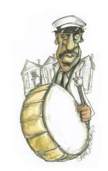 New Orleans Drums by sketchoo