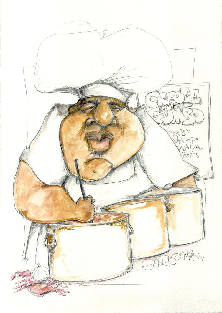 Creole Gumbo2 by sketchoo