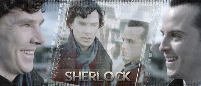 Sherlock BBC: Sherlock VS Moriarty (2) by Newcomer-17