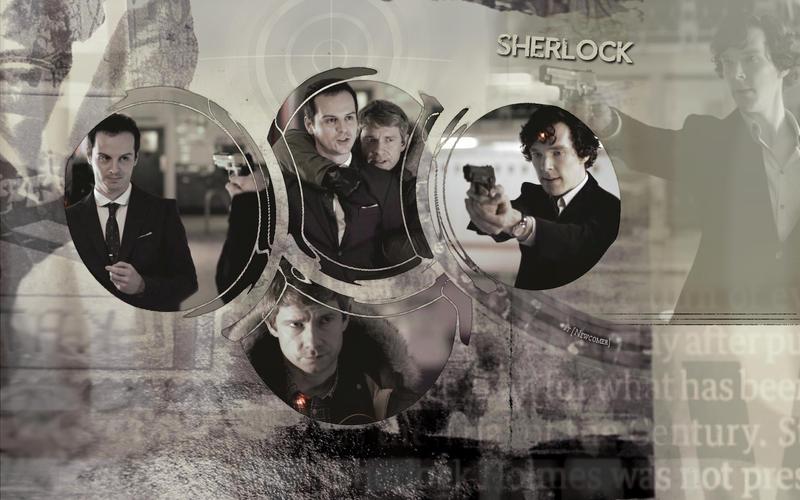 Sherlock BBC: Sherlock, Jimm, John by Newcomer-17