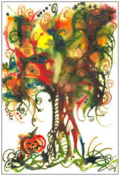 Halloween Tree by amyhooton