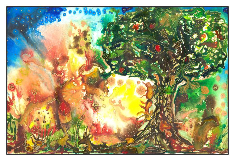 The Magic Tree by amyhooton