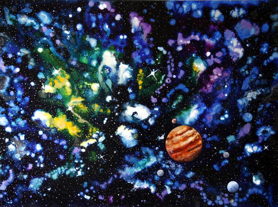 Giant Jupiter by amyhooton