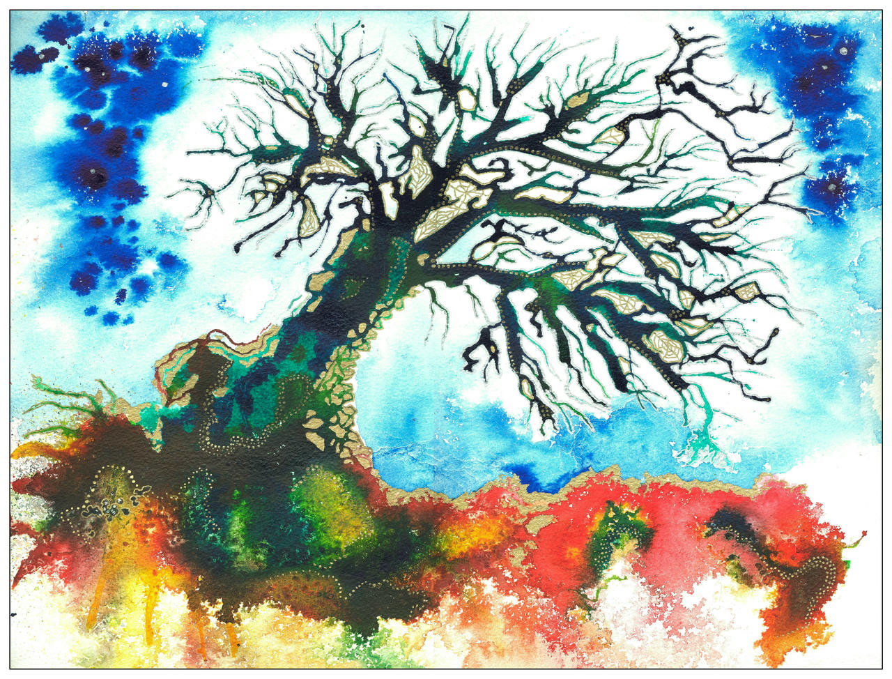 Gossamer Tree by amyhooton