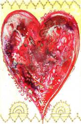 Rococo heart