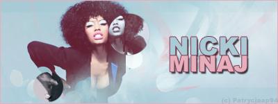 Blue Nicki Minaj by patrycjaap94