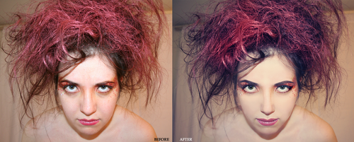 redhair retouch by patrycjaap94