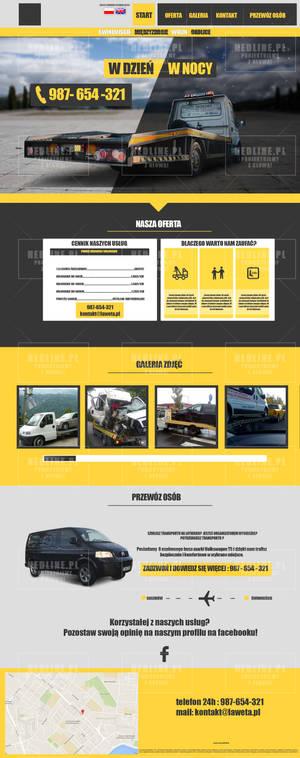 Roadside assistance layout