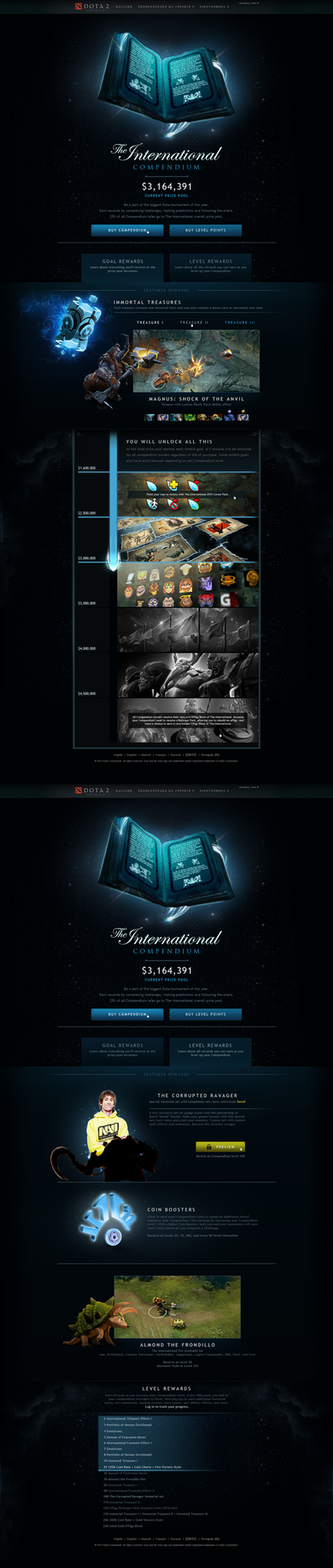 Dota 2 The International Inspired Design by Agresidy