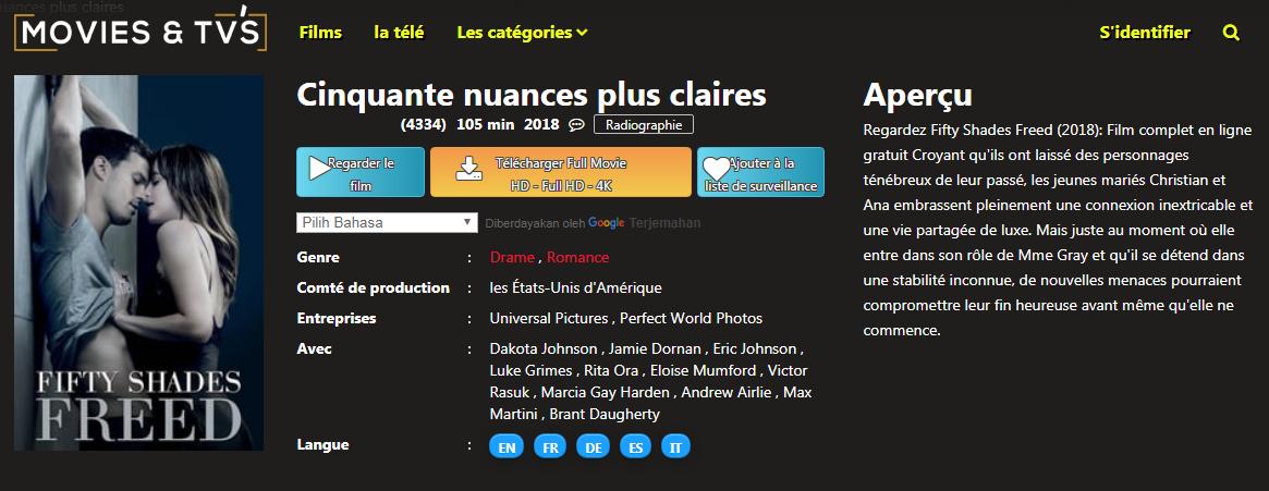Streaming nuances forum claires 50 plus 50 Nuances