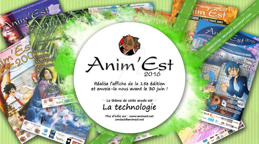 Concours d'Affiches 2016 by Association-AnimEst