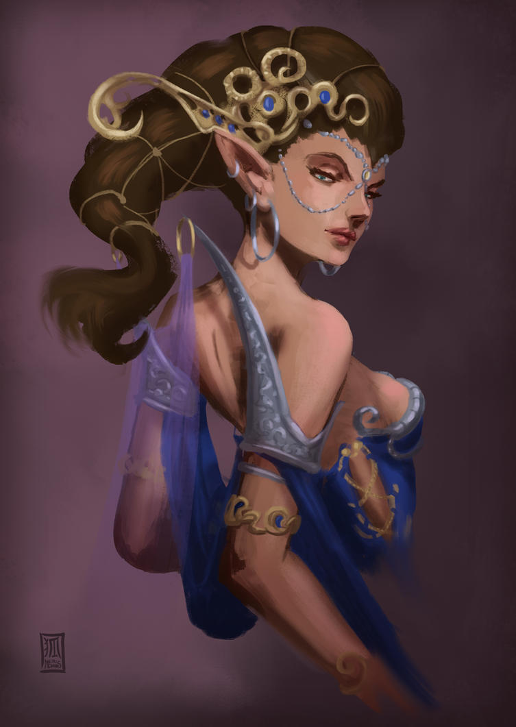 Queen of the Mages by Meridianos