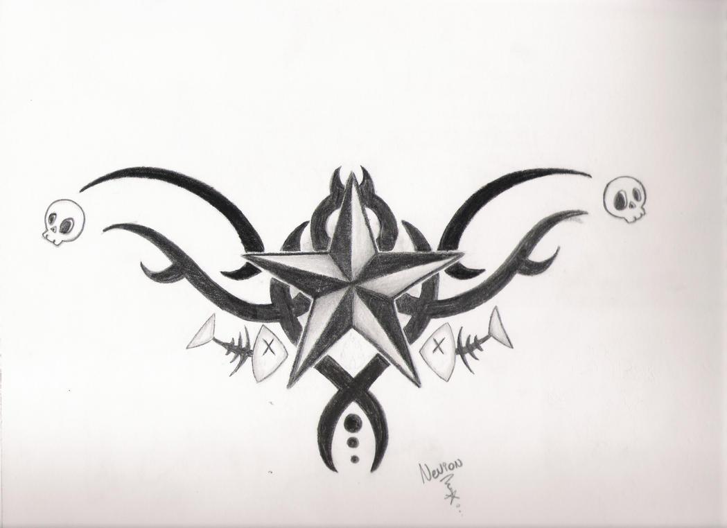 Nautical star tattoo design by 8xxnevionxx8 on deviantart for Nautical star tattoo design