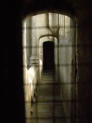 ghostly corridor