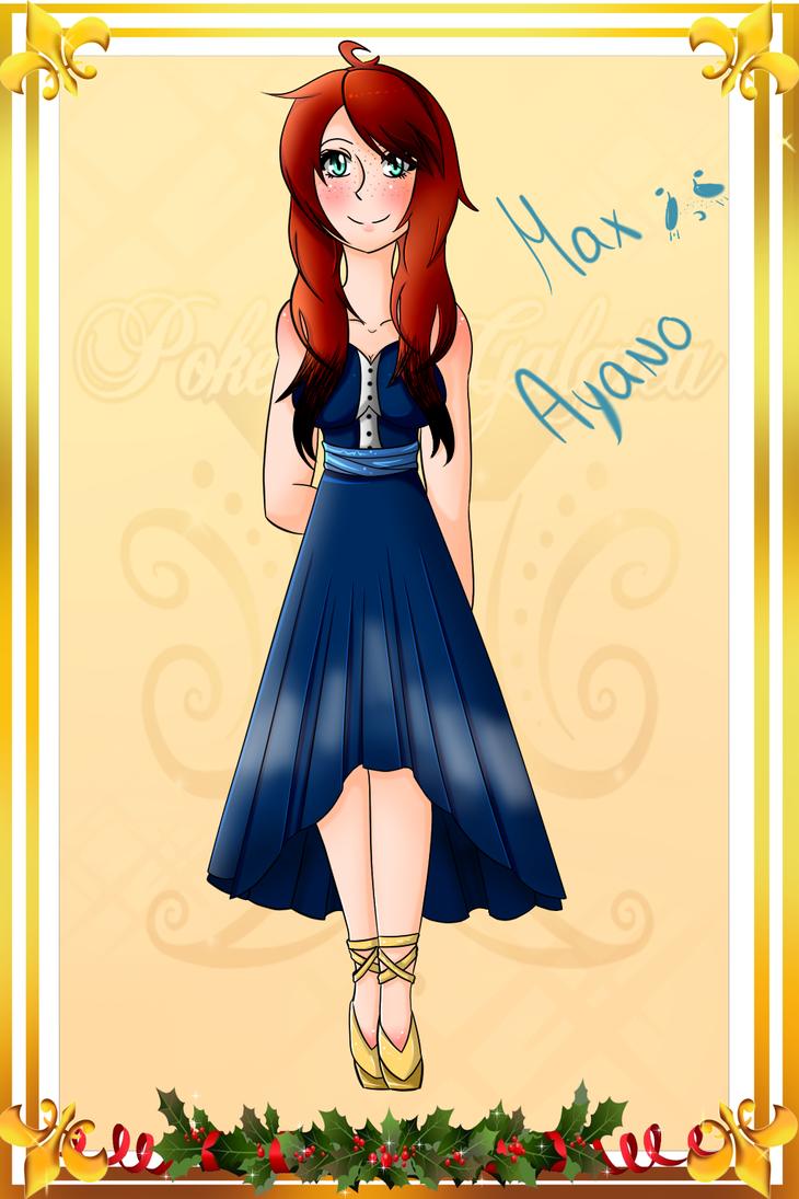 The red haired lady~ by NyAzuraTheFoxgong