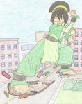 Street Sweepin Giantess Toph