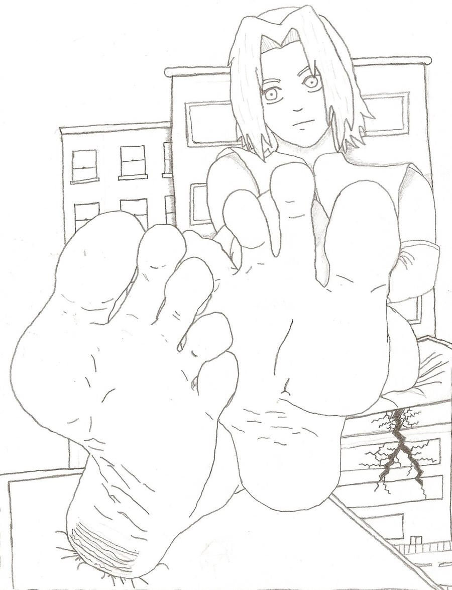 Giantess Sakura - Original by XxSumRaNdOmGuYxX