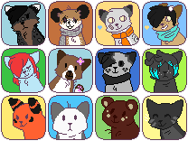 friend icon batch by Darkaiya