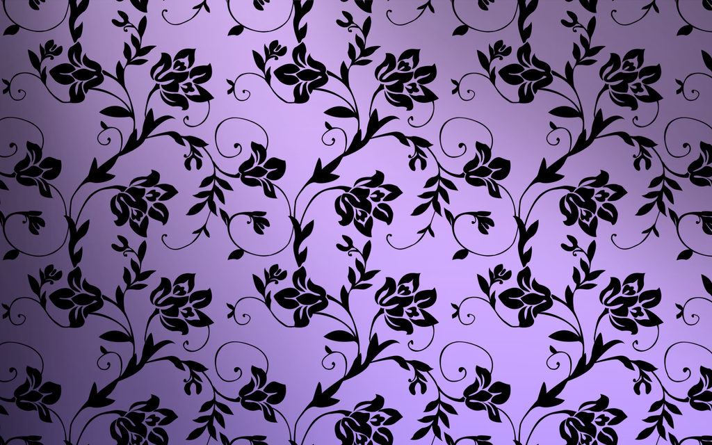 gallery for purple floral pattern wallpaper