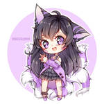 CM: Purple wolf  by voeza