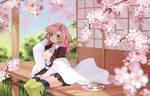 [Fanart - Kimetsu no Yaiba] Mitsuri with sakura