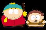 Cartman and Elvin by cartman1235
